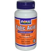 Folic Acid 800 мкг (250таб)